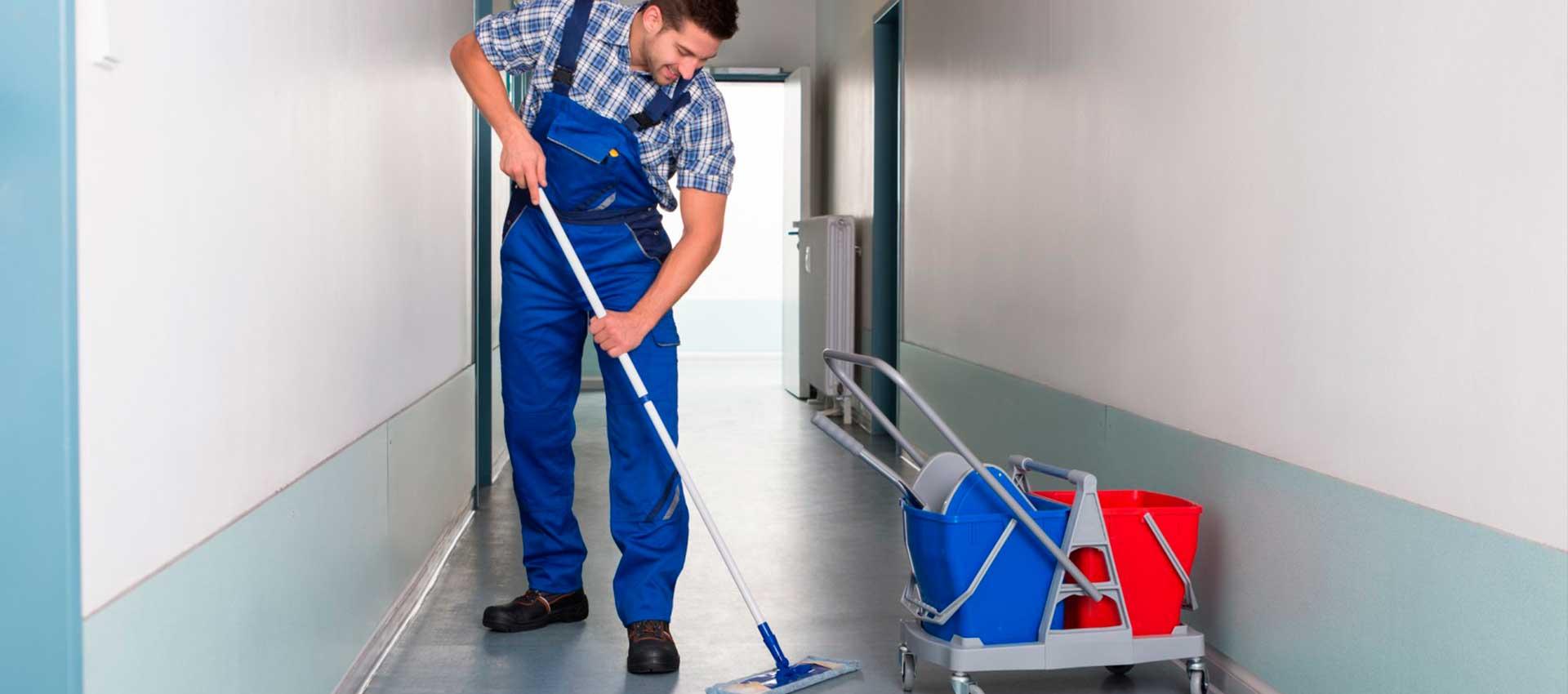 Limpieza profesional para tu edificio